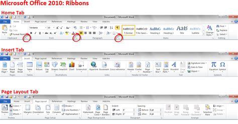 layout microsoft word 2010 microsoft office 2010 ribbons computerguyjeff