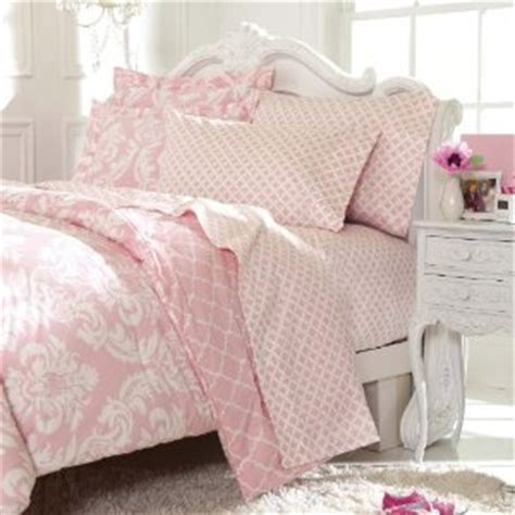 adorable pink damask comforter sets king and