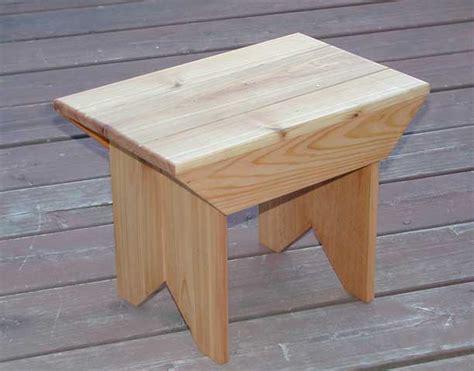 pdf diy foot stool plan blue prints on box