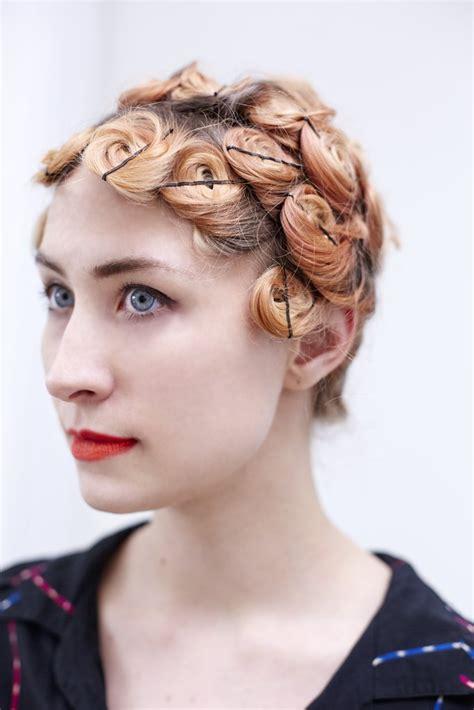 how to do pin curls popsugar