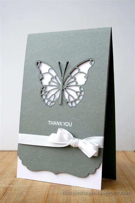 Butterfly Cards Handmade - cas butterfly card handmade cards