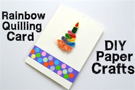 How To Make Cool Cards Out Of Paper - paper quilling birthday card favecrafts