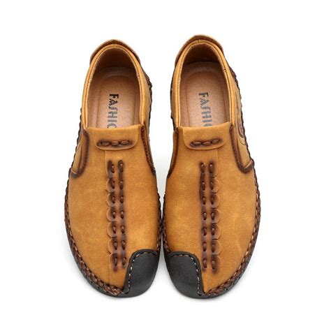 gilaugh 2017 handmade leather shoes casual shoes