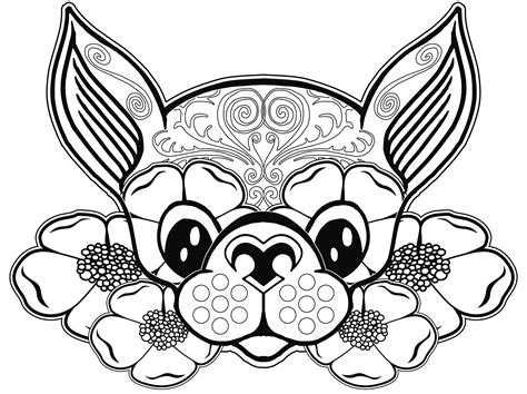 free printable dog coloring pages for adults color zini dog coloring page dog coloring pages free coloring page