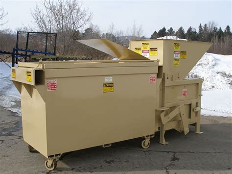 used trash compactor small compactors for apartments high rise applications