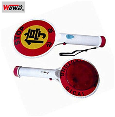 hand held stop sign with led lights china led hand held reflective traffic stop sign wt 3