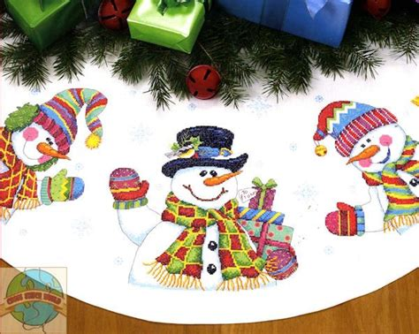 christmas tree skirt cross stitch christmas crosstitch