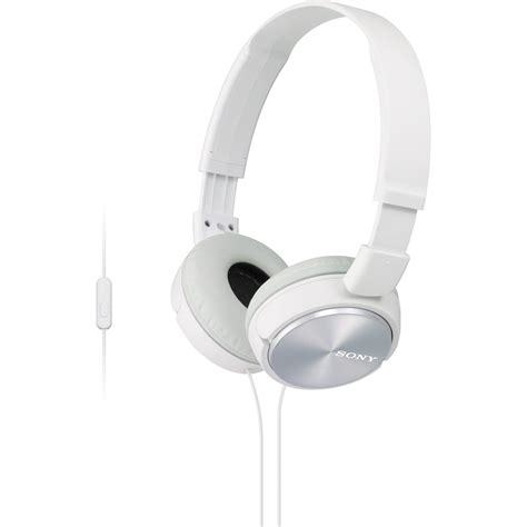 Sony Mdr Zx310ap sony mdr zx310ap zx series stereo headset white mdrzx310ap w