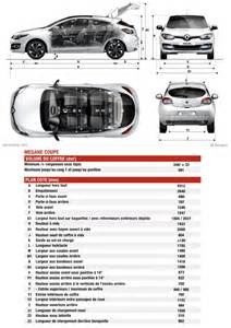 Length Of Renault Megane Renault Megane 3 Coup 233 Restylage 2014 Fiche Technique