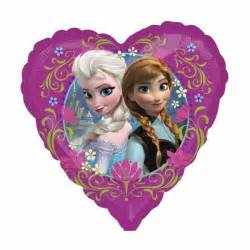 Christmas Chair Covers 45cm Frozen Anna And Elsa Love Heart Shaped Foil Balloon Favour Perfect