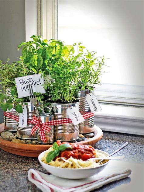 grow your own kitchen countertop herb garden kitchen
