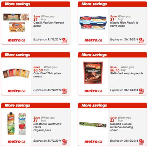 printable grocery coupons quebec metro quebec printable store coupons december 25 31