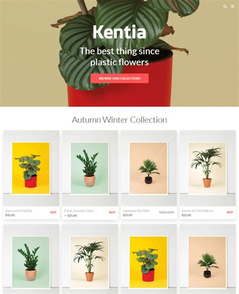 shopify themes cypress 7 of the best shopify themes for art stores down