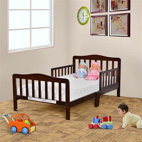 baby toddler bed kids children wood bedroom furniture