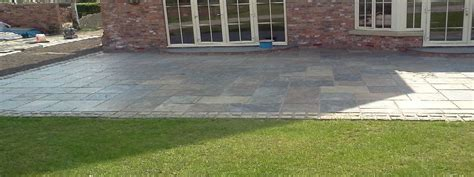 Different Patio Designs Landscapers Northallerton Indian Sandstone Patios York