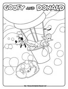 mickey mouse clubhouse coloring pages mickey mouse clubhouse 3 free disney coloring sheets