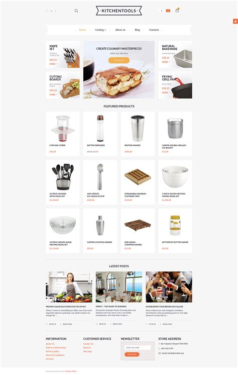 live preview for housewares responsive virtuemart template
