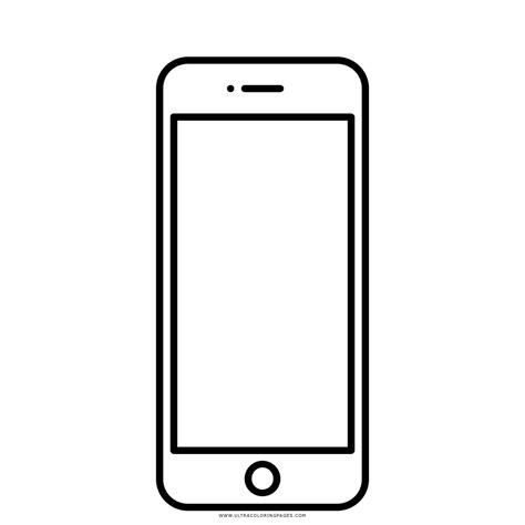 Iphone X Coloring Page by Iphone 5 Disegni Da Colorare Ultra Coloring Pages