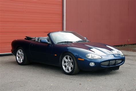 Jaguar Blue jaguar xk8 cabrio blue