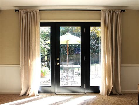 how to remove paint from curtains remove the mullions and paint your french doors black