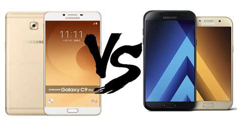 Samsung A7 Pro Samsung Galaxy C9 Pro Vs Samsung Galaxy A7 2017