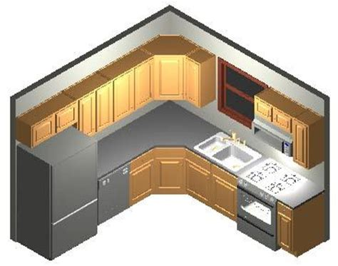 kitchen layout 10 x 9 10x10 kitchen littlehouseontheproject1 pinterest