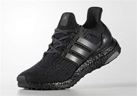 Sepatu Sneakers Adidas Ultra Boost 3 0 Black Gradepremium 40 44 adidas ultra boost 3 0 black sneakernews