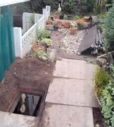 Underground Patio by Diy Fanatic Built A Secret Garden Underground Cannabis