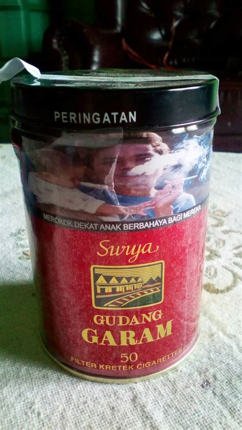 Surya Kaleng jual kaleng bekas rokok surya adam wijaya shop