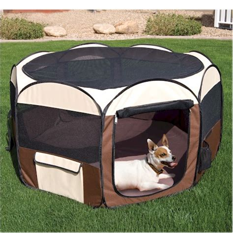 playpen for dogs deluxe pop up pet playpen