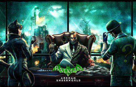 Batman Arkham World batman arkham underworld disponibile iphone e