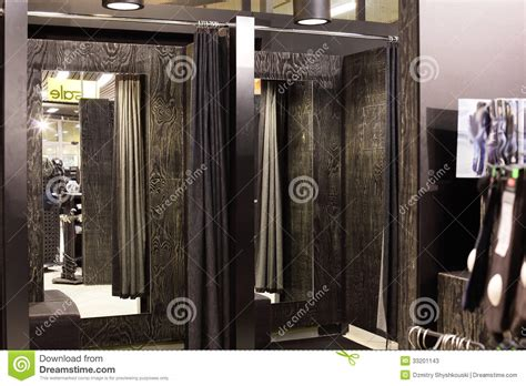 Clothes Changing Room by Dressing Room In Clothes Store Stock Photos Image 33201143