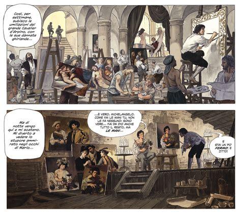 milo manara tavole milo manara racconta caravaggio a fumetti artribune
