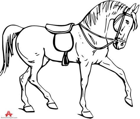 image gallery horse drawings to colour drawing clipart horse pencil and in color drawing