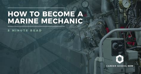 boat mechanic job description how to become a marine mechanic