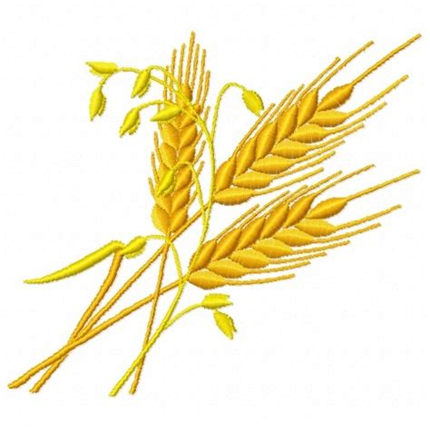 embroidery design wheat wheat stems embroidery design annthegran