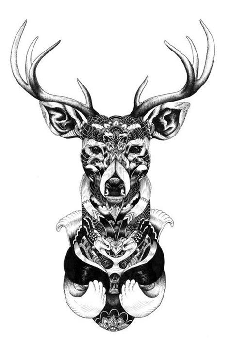 tattoo mandala deer mandala deer tattoo tattoos ink tats i adore pinterest