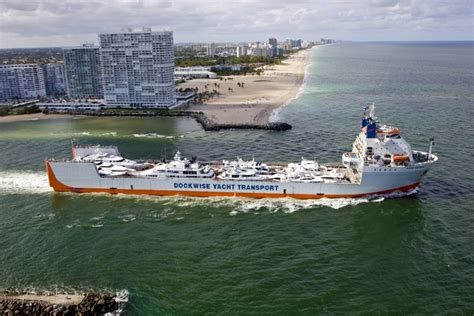 boat show hamburg ny yacht express in port everglades delivering a quarter of a