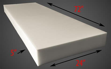 3 inch upholstery foam upholstery foam 5 quot thick 24 quot wide x 72 quot long medium density