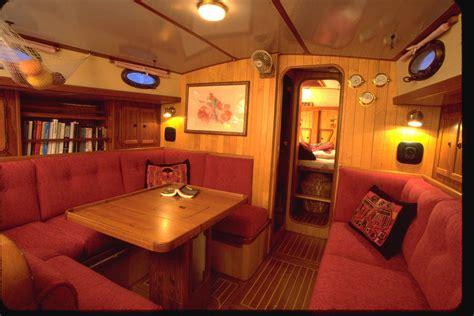 small boat jobs uk boat varnish wood interiors need tlc too boatus