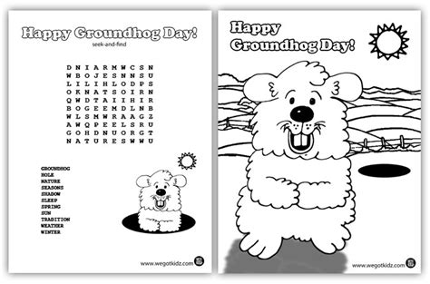 groundhog day sheet groundhog day printables search results calendar 2015
