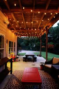 How To Install Patio Lights 1000 Ideas About Outdoor Patio Lighting On Patio Lighting Outdoor Patios And