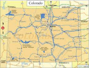 geographic map of colorado colorado facts and symbols us state facts