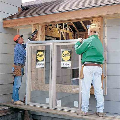 how to install new windows in old house install your own windows diy mother earth news