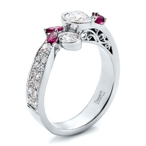 ruby engagement rings ruby engagement rings ruby and