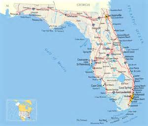 map of ta florida and surrounding cities reisfotoboek florida