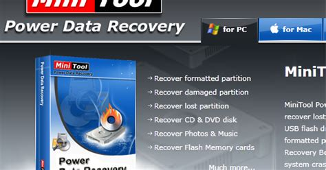 power data recovery download minitool power data recovery personal license free