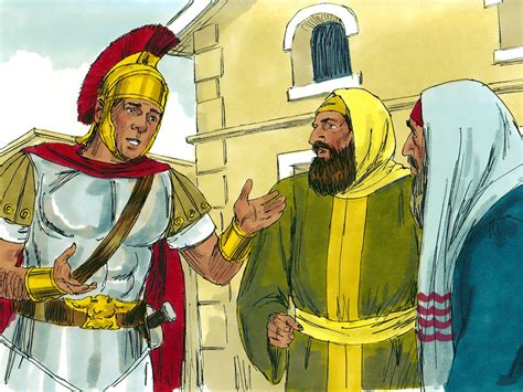 Thåy S Free Bible Images Jesus Heals The Servant Of A Centurion