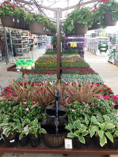 Lowes Gardening Center by 1000 Images About Lowe S Garden Center Displays On