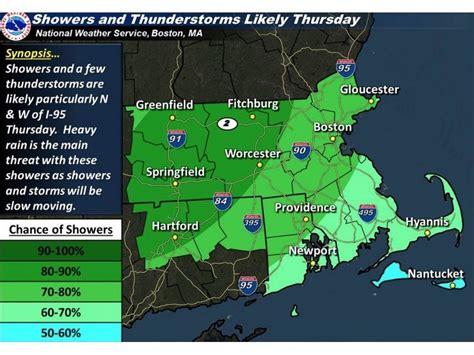 your jamaica plain weather heavy rain expected thursday